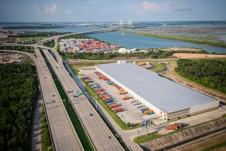 Barbours Cut Container Terminal Aerial Shot