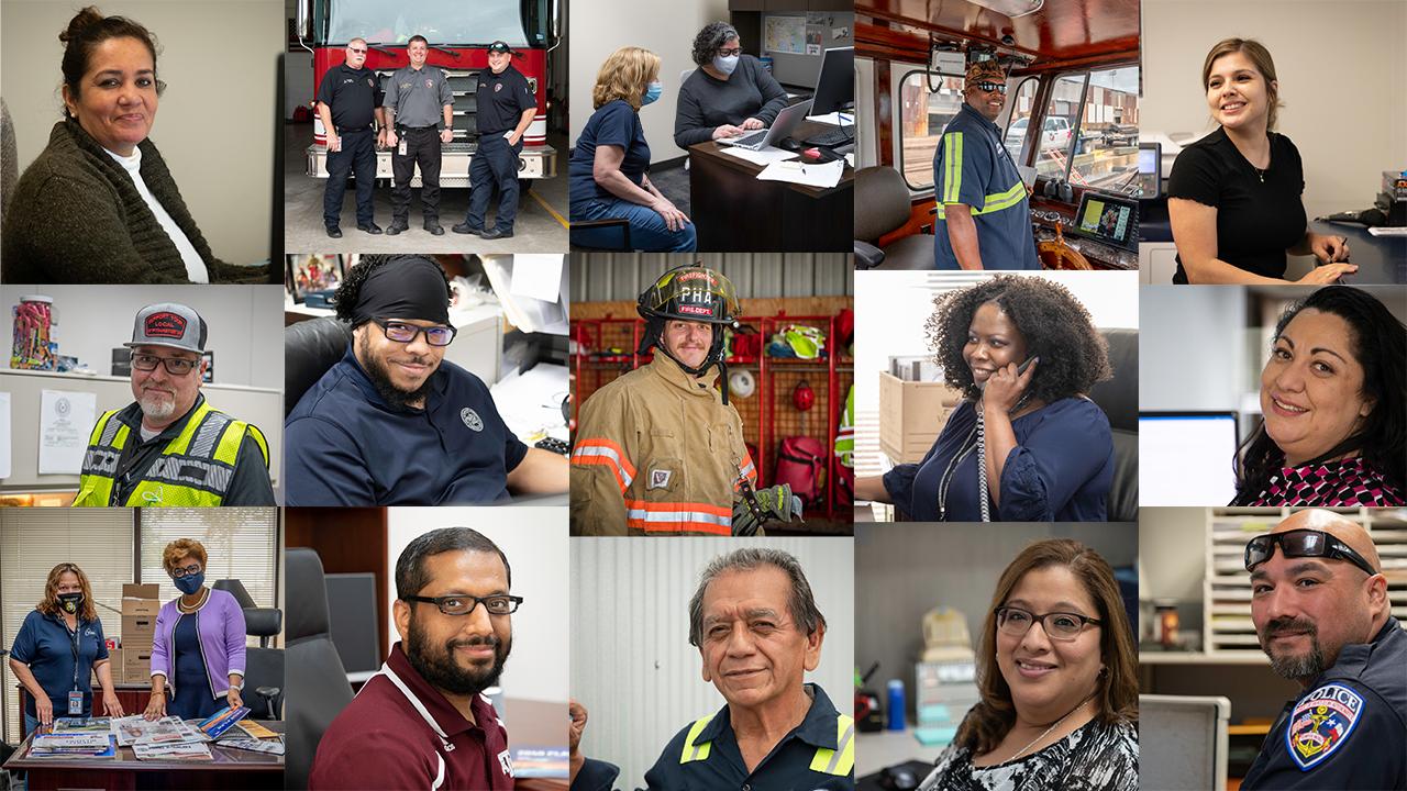 DEI Employee collage