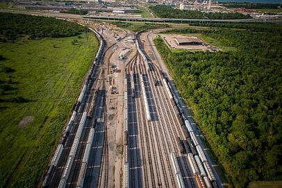 Railroad Port Houston