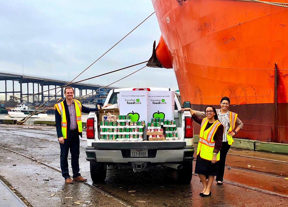 Port Houston Blog | food drive